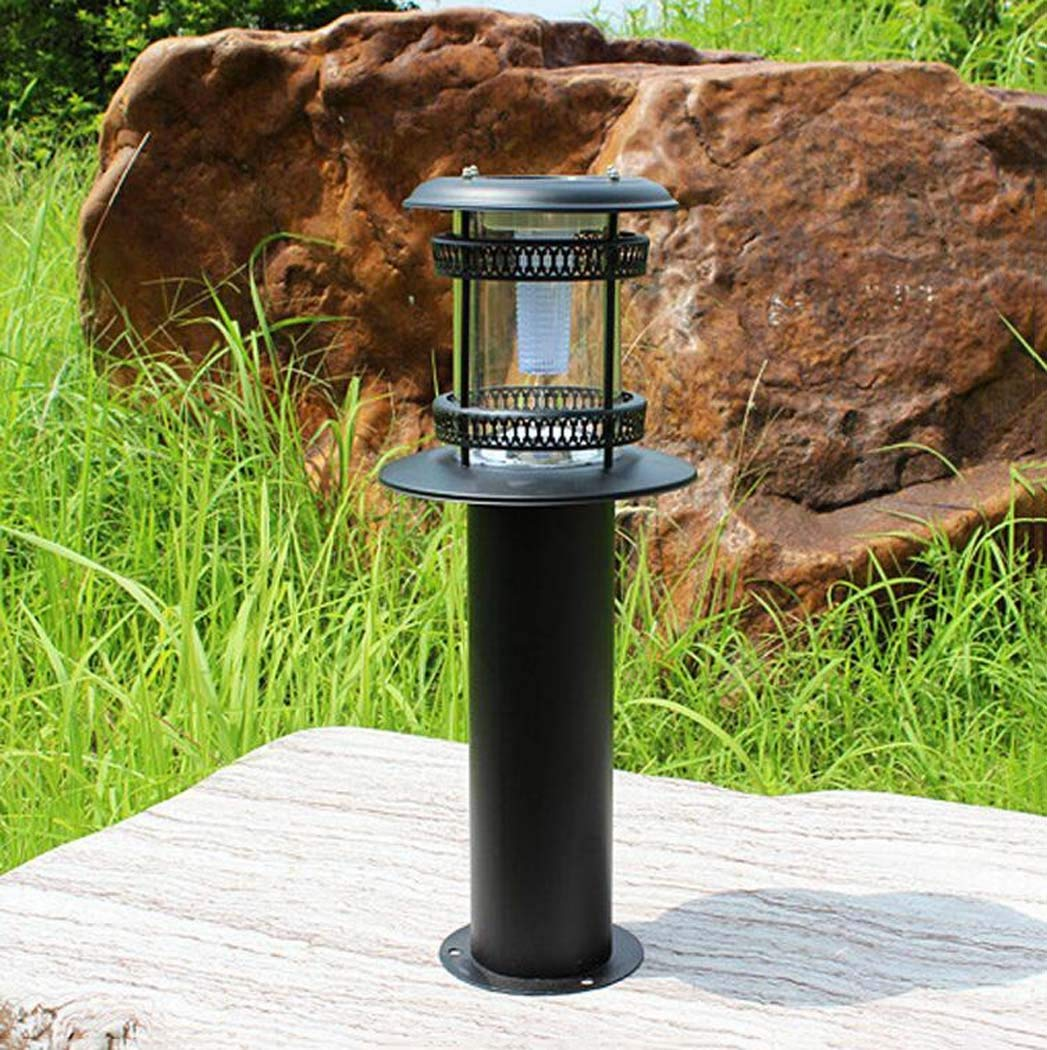GJX Solar Lawn Lights, IP65 Waterproof Landscape/Pathway Lamp Die-cast aluminum LED Outdoor Solar Lights For Patio, Lawn, Yard, Walkway, Easy Install No Wires (Color : A)