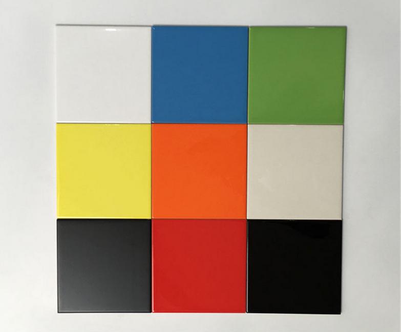 Kleur Keuken Tegels : Moderne badkamer muur kleur restaurant mm licht effen