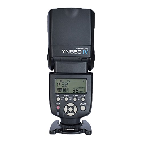Yongnuo YN-560IV(560III upgrade version,a Combination of YN-560 III and YN560-TX all functions) 2.4G Wireless Flash Speedlite Trigger Controller for Canon Nikon Olympus Pentax