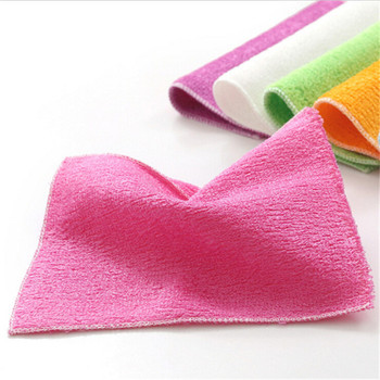 Terry Cloth Wholesale Fabric Bamboo Carbon Decoration Kitchen Towel