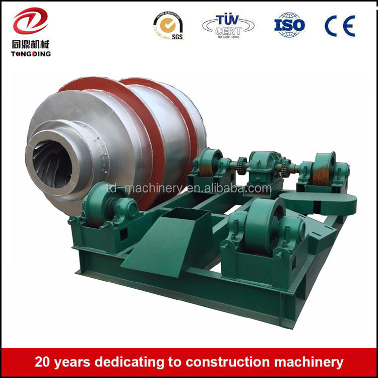 T628 energy saving rotary drum artificial sand drying machine