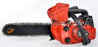 25.4cc gasoline gasolin chain saw poulan dolmar chain saw top pole long handle chainsaw steel mini chain saw