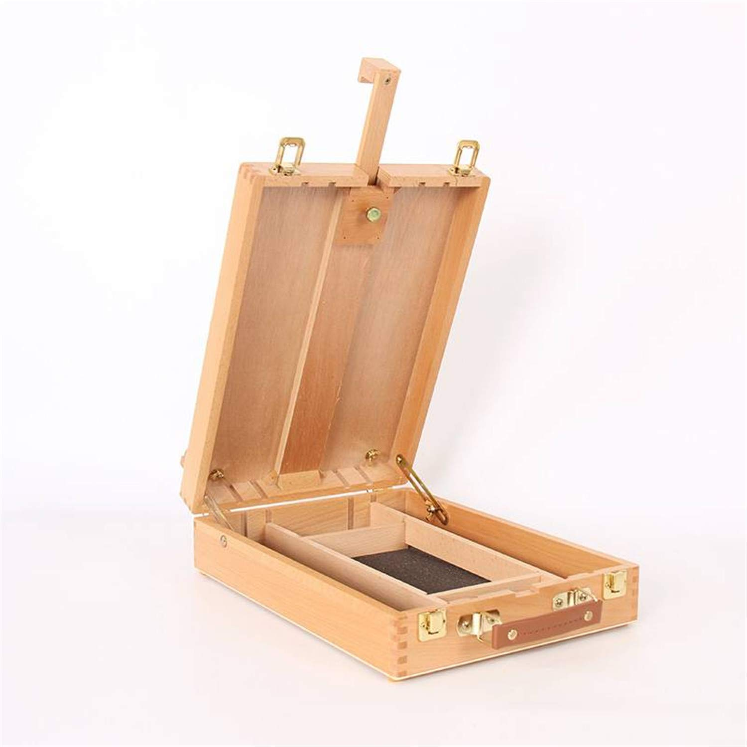 Portable Beech Sketch Box with Easel 36 27 11.5cm Wood Color