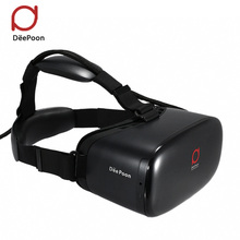 DEEPOON E2 Virtual Reality 3D PC Glasses 1080*1920 VR Headset Head Mount Compatible with Oculus Rift DK2 's Game Movie 2016