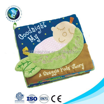Cute Educational Baby soft Book with Cheap Price and kids english short story book With Customized Shape and Printing Logo