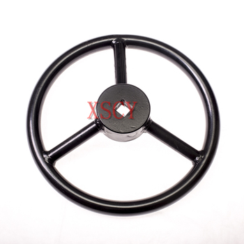Square hole welding handwheel with diameter of 300mm,Valve with hand wheels