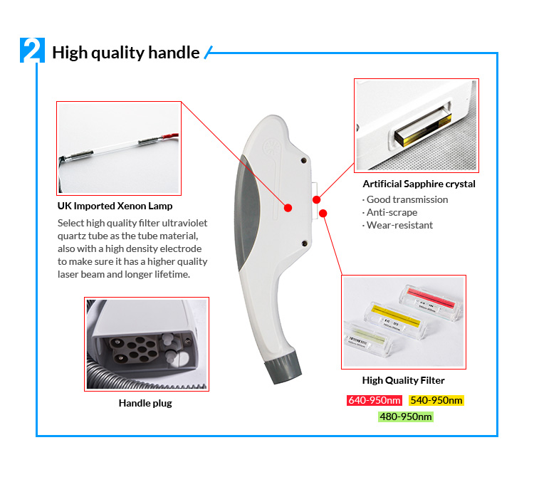 2019 Shr Ipl E-Light High Quality Hair Removal Shr Ipl