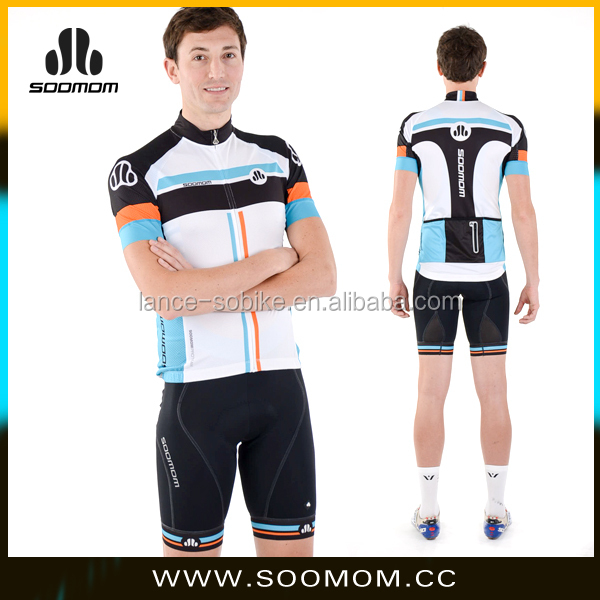 Soomom biking clothes/custom made cycling jersey/high quality bicycle appreal