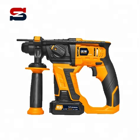 14.4V Electric Wireless Cordless Impact Hammer <strong>Drill</strong> with 1 battery