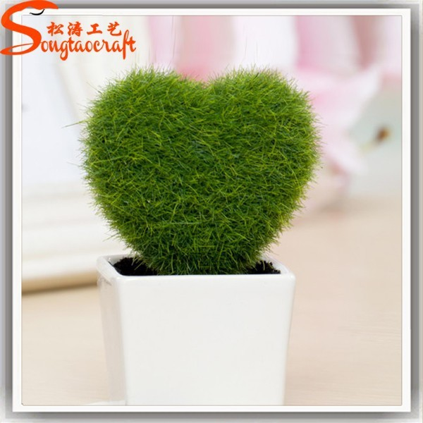 2016 Cheap Wholesale Artificial Boxwood Topiaries Grass Topiary
