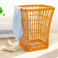 Excellent Quality Plastic Rattan Wicker Laundry Basket With Wholesale Price