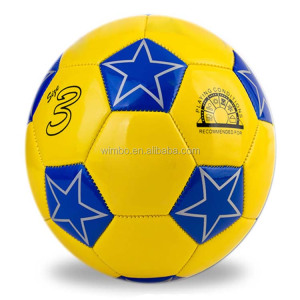 promotional size 3# pvc leather Machine stitched cheap soccer balls