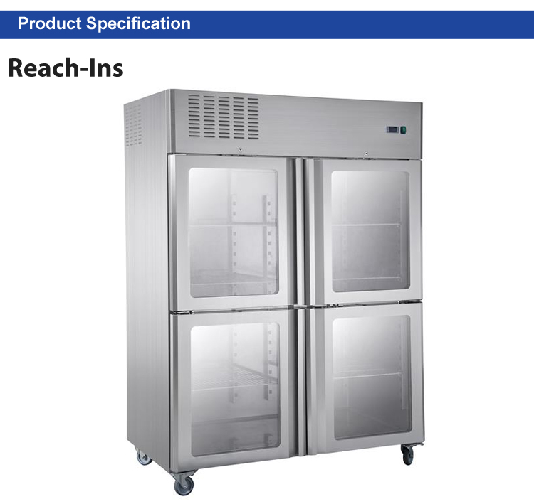 Restaurant Kitchen Appliance For Sale Super General Refrigerator Good Price Free-stand