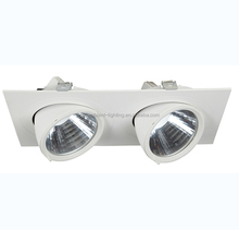 2*20w twin spot emergency light 2 headed led ceiling spotlight