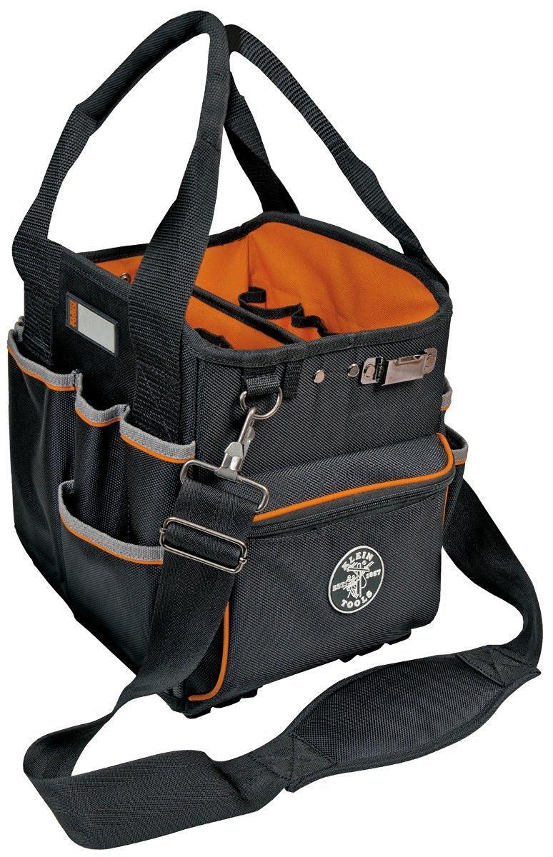 Klein Tools 55416-10 Tradesman Pro 10 Inch Tote Organizer W/ 40 Pockets