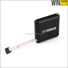 Promotional Gift Items Black Square Portable Logo OEM Tape Measures With Printed Logo As Yamaha