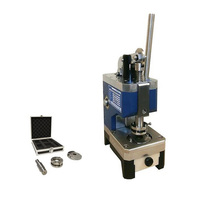 Compact lab metal foil disc cutter for button cell