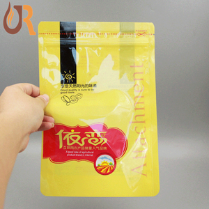 reusalable colourful reclose zipper top biodegradable plastic food bags on roll