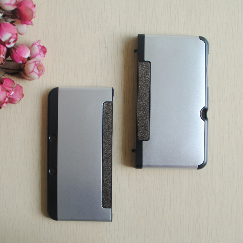 For 3DS Aluminum 3Ds cover / PC + metal hard case for Nintendo New 3DS Factory price