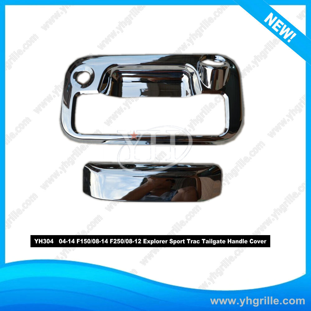 Tailgate Handle For Ford Super Duty 99-07 F150 97-03 Sport Trac 01-05 W//O Hole