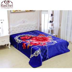 100% Polyester Embossed Best Price For Warp Knitting Blanket