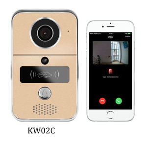 2018 H.264 smart ring video wireless doorbell with MicroSD fully Duplex Intercom, unlock