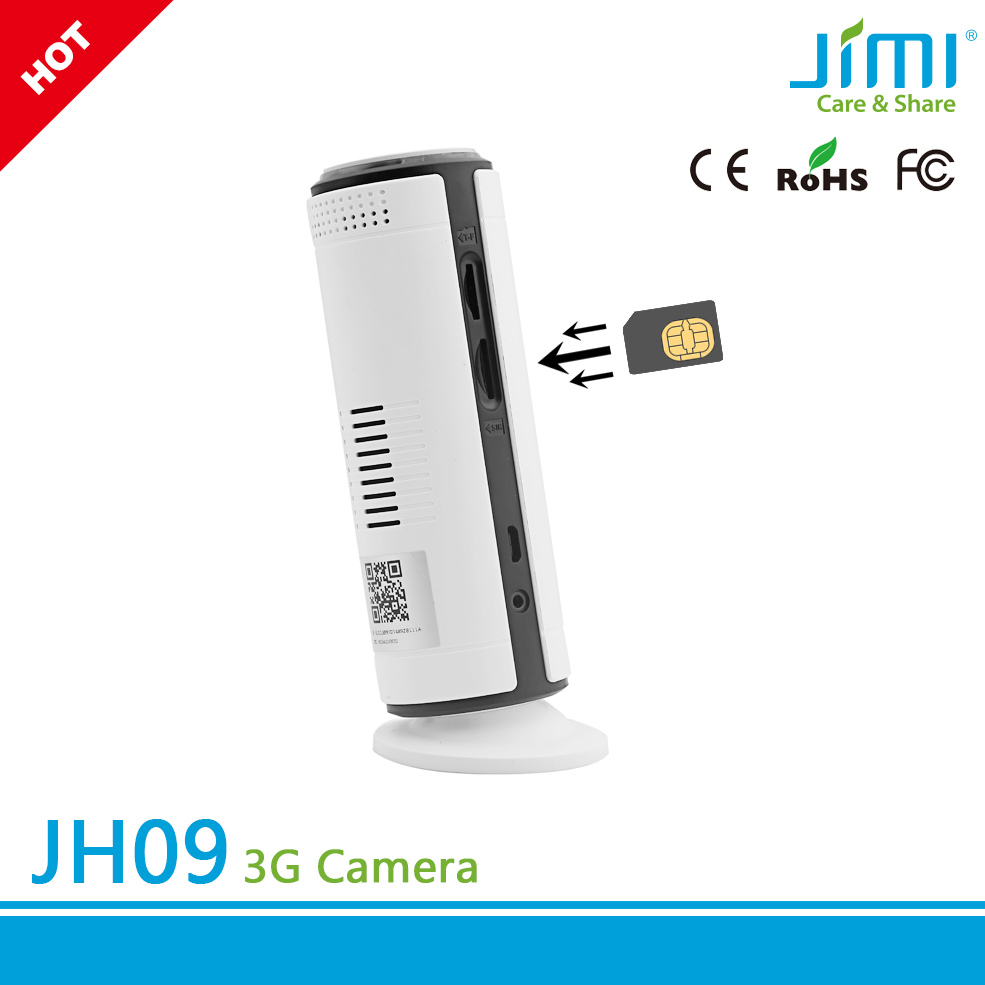 wcdma 3g sim card micro portable wireless camera with free smart phone app application