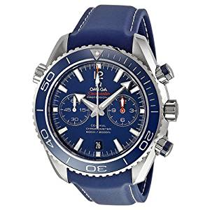 Omega Seamaster Planet Ocean Chronograph Automatic Blue Dial Mens Watch 23290465103001