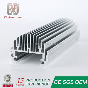 Guangzhou custom extruded aluminum heatsink profile