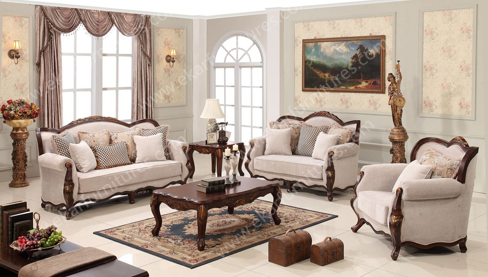 Sala De Estar Frances ~ novo design idéia decorado sofá sala de estar sofá de madeira de