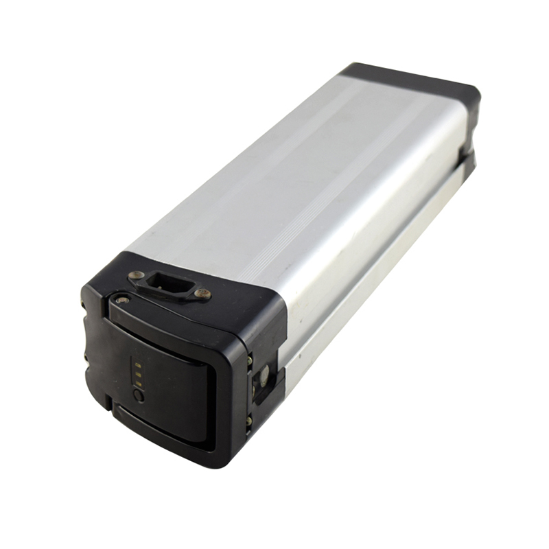 2018 hot sale Silver fish 48v 12ah lithium battery for electric bicycle