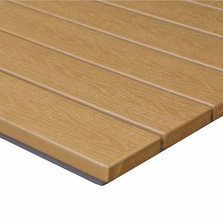 यूवी प्रतिरोधी घर लक्जरी लकड़ी लकड़ी के भोज घटना खाने की मेज