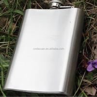 3/4/5/6/7/8/9/10 Oz Stainless Steel Mirror sanding Grinding Series Hip Flask
