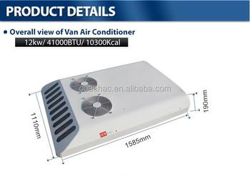 Kt-12 12v 24v Rooftop Mounted Minibus Or Van Air Conditioner Unit For Mini  Bus,Van Used - Buy Minibus Air Conditioner Unit,Minibus Air Conditioner