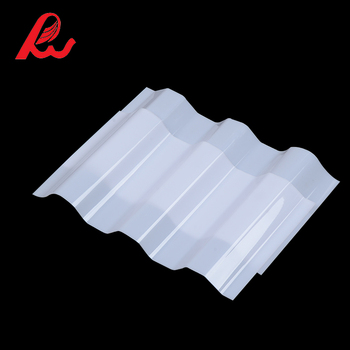 High Quality Uv Protection Pc Solid Roof Tiles Corrugated