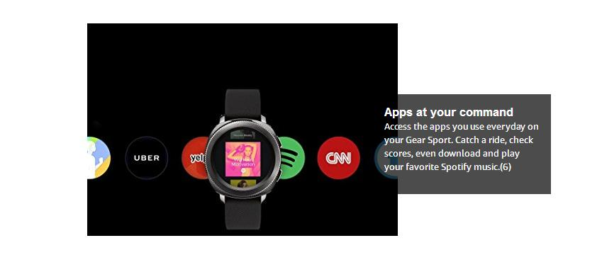 Samsung Gear Black SM-R600NZKAXAR US Version with Warranty Sport Smart  watch Bluetooth, View samsung smart wear, Product Details from SUNTECH