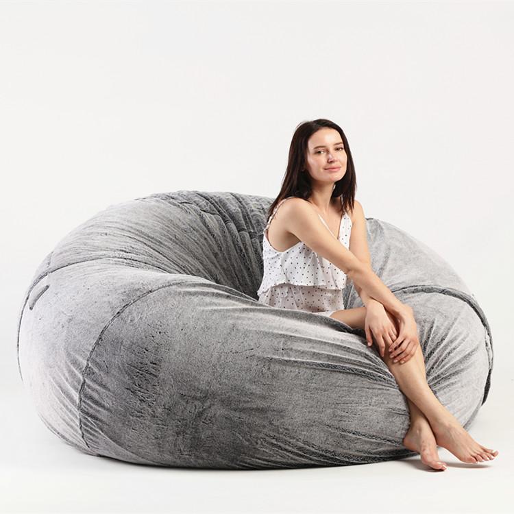 Big Bag Zitzak.Comfy Big Bean Bag Foam Balls Furniture Living Room Chair Buy