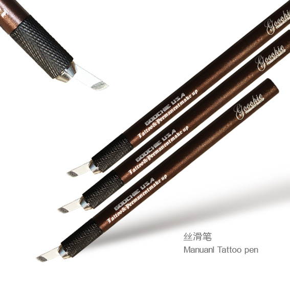 Goochie Permanente make-up wenkbrauw tattoo microblading pen