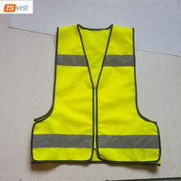 High Quality Safety Fabric Warning Reflective Vest