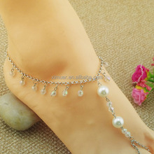 Wholesale Fashion beaded body jewelry belly dance anklet
