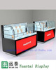 modern glass cell phone display cases mobile shop counter/led bar phone display counter