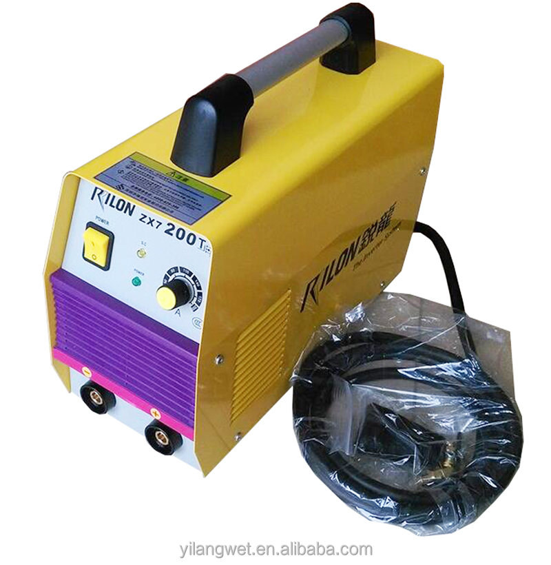Hand-held rilon MMA arc 200 dc inverter welding machine