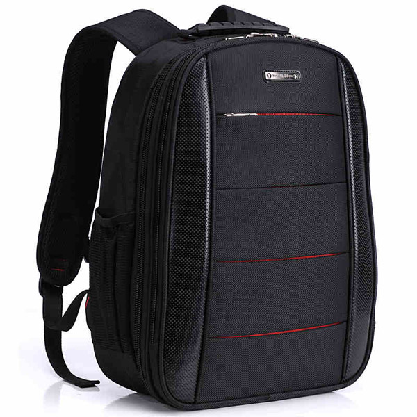 Top quality oxford and leather material double strape <strong>shoulder</strong> men backpack bearky bag manufacturer