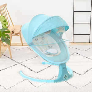 Amazing Plush Rocking Chair Swan Baby Rocker Automatic Electric Bouncer Baby Rocker Ncnpc Chair Design For Home Ncnpcorg