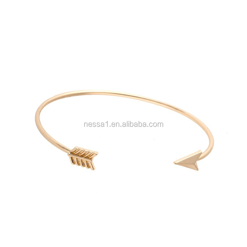 2017 HOT Arrow Bangles Copper Bracelet YU-0368