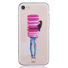For iPhone 7 Case Colorful Drawing Soft TPU Smart Phone Case for Iphone 7 7 plus 8 plus X