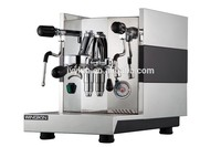 stainless steel 304 hosuing faema coffee machine with big bolier
