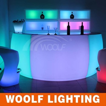 Charmant Newly Design Acrylic Led Furniture For Bar Used