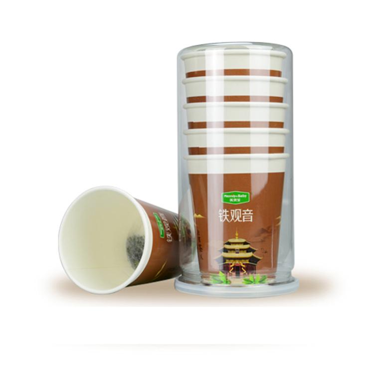 Merlin Bird cup tea organic Dahongpao oolong tea with paper cup - 4uTea | 4uTea.com