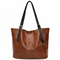 High Quality Large Tote Leather Travel Bag PU